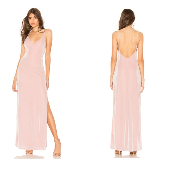 Revolve Dresses About Us Lola High Slit Maxi Dress Pink Poshmark Shop floral, lace, bodycon styles & more. poshmark